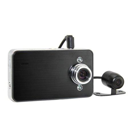 Двухканальный видеорегистратор с монитором Globex Globex GU DVH010