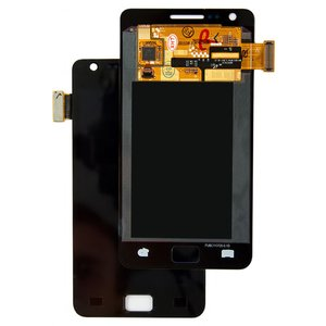 LCD Samsung I9100 Galaxy S2, (black, with touchscreen, original (change glass) )