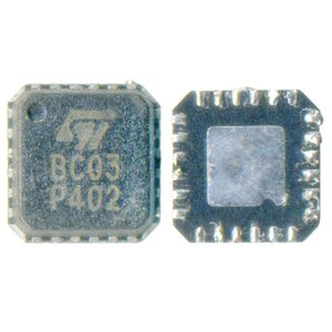 SIM-card Control Ic EMIF09-BC01 (BC03) compatible with Samsung E100, E330, E330N, E335, E630, E700, E800, E820, S500, X100, X460, X490, X600, X620, X640