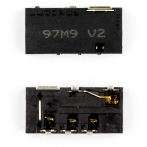 Handsfree Connector for Nokia E72, E75, N97, N97 Mini Cell Phones