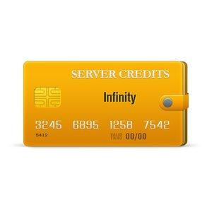 Infinity Server Credits