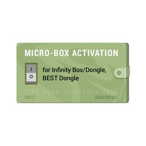Micro-Box Activation for Infinity Box/Dongle, BEST Dongle