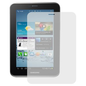 Tempered Glass Screen Protector All Spares for Samsung P3100 Galaxy Tab2 , P3110 Galaxy Tab2  Tablets, ((version 3G), 0,26 mm 9H)
