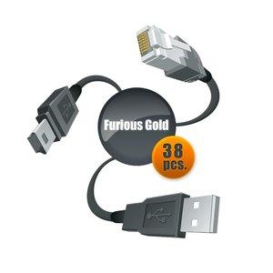 Furious Gold Cable Set (38 pcs.)