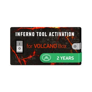 Inferno Tool 2 Years Activation for Volcano Box