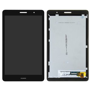 LCD for Huawei MediaPad T3 8.0 (KOB-L09) Tablet, (black, with touchscreen)