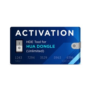 HDE Unlimited Activation for Hua Dongle