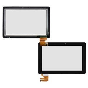 Cristal táctil para tablet PC Asus Eee Pad TF300, Eee Pad TF301, negro,  (versión G03), #69.10I21.G03