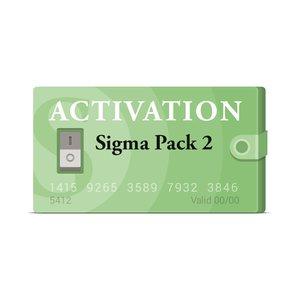 Activación Pack 2 para Sigma