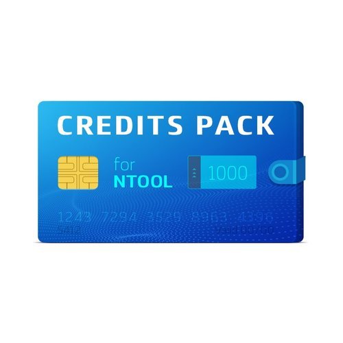 Pack de 1000 créditos NTool