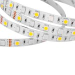 Tira de luces LED RGB+WW SMD5050 (300 diodos LED, IP20, 12 V, 5 m)