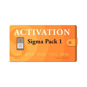 Активация Pack 1 для Sigma