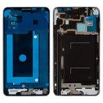 Рамка крепления дисплея Samsung N9005 Note 3, N9006 Note 3, серая, LTE