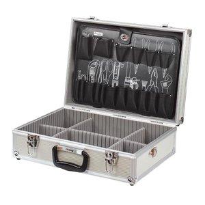 Кейс для инструментов Pro'sKit 8PK-735N c алюминиевым каркасом и 1 перегородкой