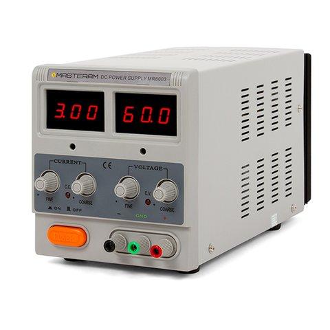 Лабораторний блок живлення Masteram MR6003