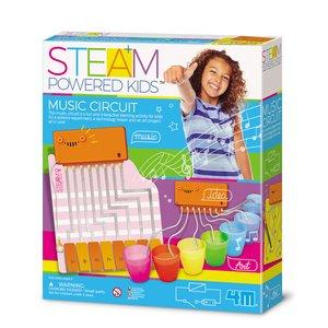 STEAM-набор для девочек 4М Волшебная музыкальная цепь
