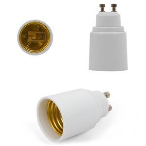 Base Adapter (GU10 to E27, white)