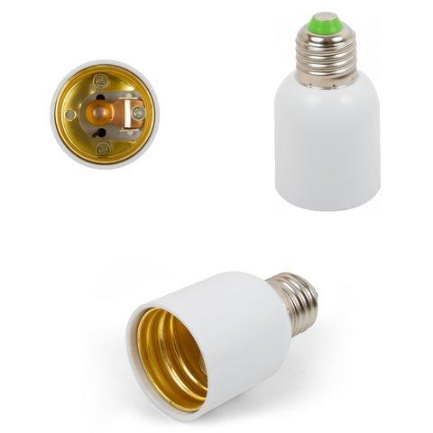 Base Adapter E27 to E40, white