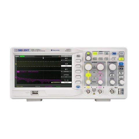 Digital Oscilloscope SIGLENT SDS1202DL+